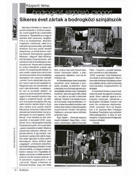 Sikeres évet zártak a bodrogközi színjátszók